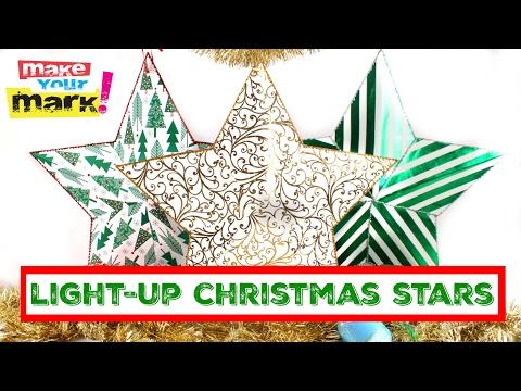 Light-Up Christmas Stars DIY