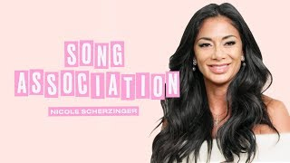 Nicole Scherzinger Sings Whitney Houston, Beyoncé, and Britney Spears | Song Association | ELLE