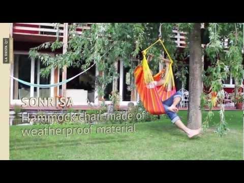 LA SIESTA hammock chair: www.youtube.com/watch?v=_DRY6QfPQGA