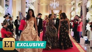 EXCLUSIVE: Michelle Obama on Sasha and Malia Attending Their First State Dinner