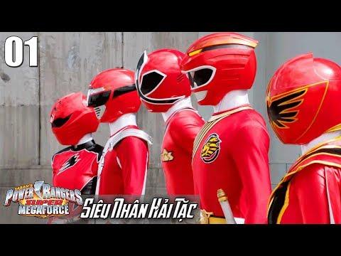 Phim Siêu Nhân Hải Tặc (Super Megaforce) Tập 1: Biến Hình 5 Siêu Nhân Đỏ - Thời lượng: 23:03.