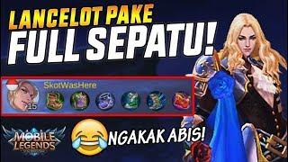 Download Video 6 SEPATU BUAT LANCELOT? NGAKAK ABIS! - Mobile Legend Indonesia MP3 3GP MP4