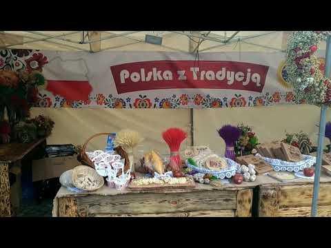 Wideo1: Stoisko z certyfikowanymi produktami na Festiwalu Smaku i Tradycji