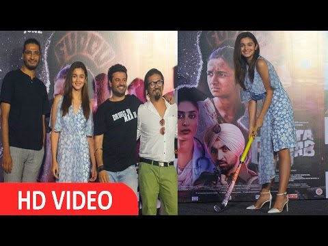 Alia Bhatt At Song Launch Of Udta Punjab UNCUT