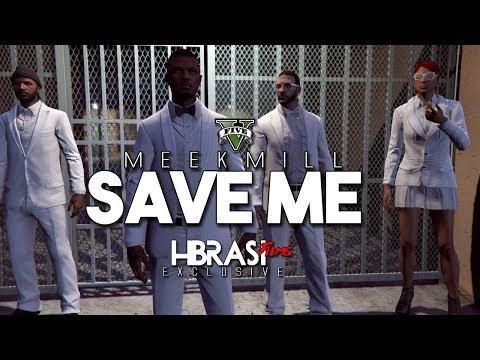 Meek Mill - Save Me ( GTA MUSIC VIDEO ) @MeekMill