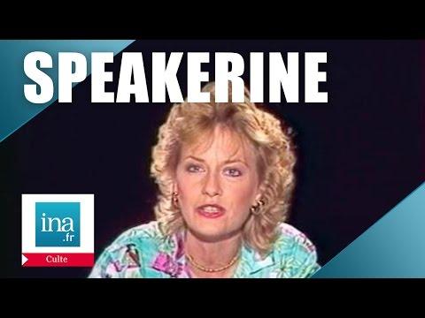 Speakerine 1982 Catherine Ceylac | Archive INA