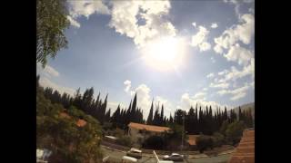Hatzor Haglilit Israel  city pictures gallery : time lapes sky in hazor haglilit 18-10-2014 gopro