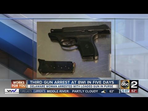 3 guns confiscated at BWI Airport in 5 days