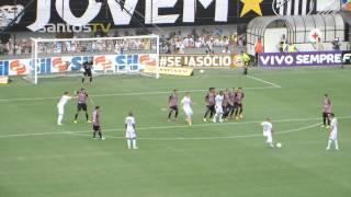 Confira os melhores lances da vitória do Peixe em cima do São Paulo pela quinta rodada do Paulistão 2013.