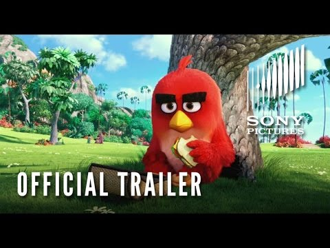 THE ANGRY BIRDS MOVIE:  In Theatres May 2016 -  Trailer #1