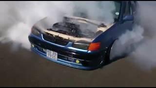 Download Lagu INSANE 1-4 gear Toyota 20V BURNOUT Mp3