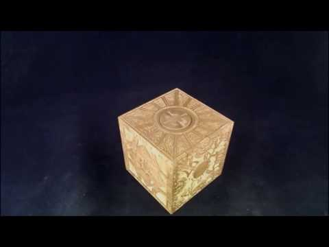 "Opening ""The Screw"" / Hellraiser Cube / Lemarchand's /  Lament Configuration Puzzle Box"