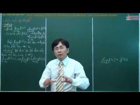 Toán 11 - Hàm số liên tục - Xét tính liên tục của hàm số tại điểm x0 dựa vào định nghĩa