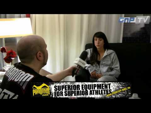 Invicta FC 5 – Jessica Penne one day before her title defense against Michelle Waterson