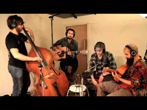 The Manic Shine - Legs (acoustic) - In session at The Animal Farm