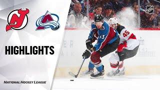 NHL Highlights   Devils @ Avalanche 12/13/19 by NHL