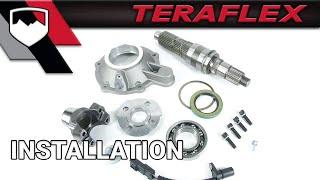 TeraFlex Install: 231 Extreme Short Shaft Kit (4444400) Plus 2WD Low Range Kit (2204000)