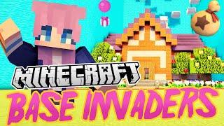 Animal Crossing Base   Minecraft Base Invaders Challenge