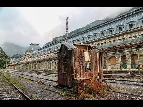 Abandoned railway station once used by the Nazis and dubbed 'the Titanic of the Mountains', Amazing!