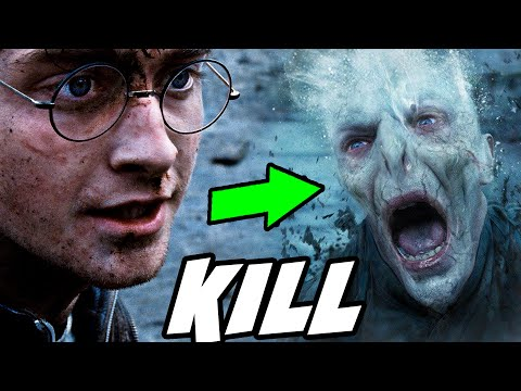 Why Harry DIDN'T Use Avada Kedavra on Voldemort - Harry Potter Explained
