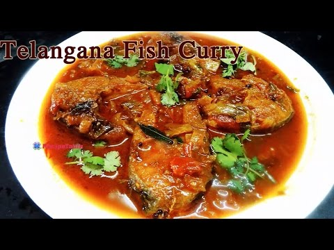 Fish Curry in Telangana Style Telangana Fish Curry