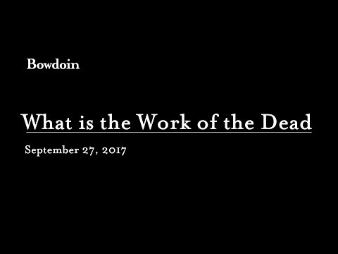What is the Work of the Dead by Thomas Laqueur