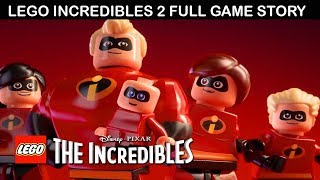 Video Lego The Incredibles 2 All Cutscenes (Game Movie) Full Story 1080p 60FPS MP3, 3GP, MP4, WEBM, AVI, FLV Agustus 2018
