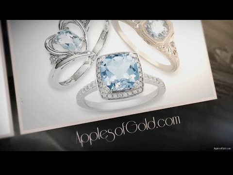 Aquamarine Rings Jewelry Collection