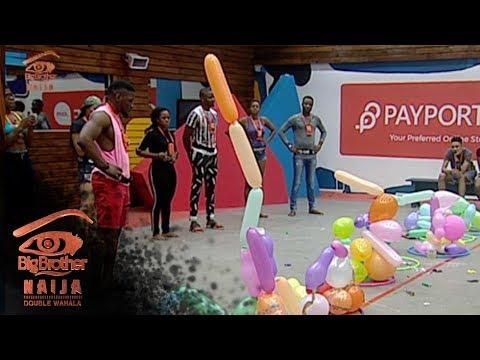 Day 1: Kayibesi Toni the first Head of House | Big Brother: Double Wahala | Africa Magic