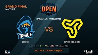 Rogue vs Space Soldiers - DreamHack Open Austin 2018 - map1 - de_mirage [CrystalMay, SleepSomeWhile]
