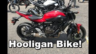 2. 2017 Yamaha FZ-07 Review | Test Ride