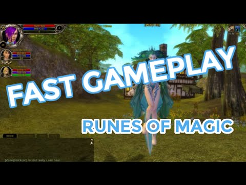 Fast Gameplay Episode 9 – Découvrons le MMORPG Runes of Magic !