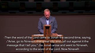 August 22nd 2021 Morning Service – Jonah 3