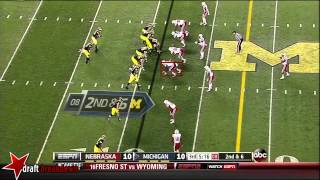 Randy Gregory vs Michigan (2013)