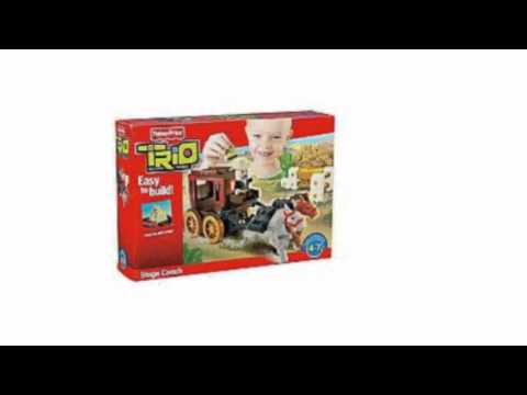 Video New YouTube  video for the Fisher Price Trio Stage Coach Building