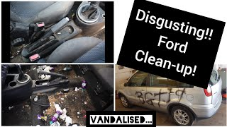 Video Cleaning the dirtiest car ever, disgusting Ford Fusion. MP3, 3GP, MP4, WEBM, AVI, FLV Agustus 2019