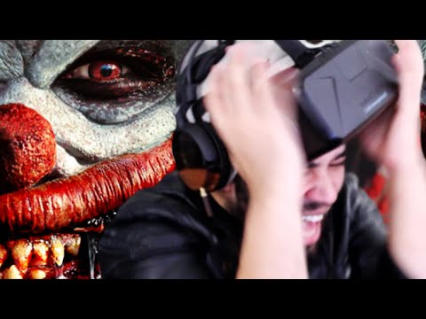 virtual - Oculus Rift DK2, Affected The Carnival: I'M SO OVER THIS SCARY GAME! Watch me scream in a virtual reality clown hell! ☞ Click This To Subscribe To Me For More Virtual Reality Videos! ☞...