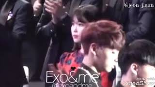 OMG !!!!! IU AND JUNGKOOK IS SO CLOSE ALTHOUGH ITS AN OLAD BUT ITS GOLD FOR US (KOOKU SHIPPER) THANK YOU...