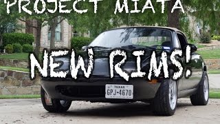 New Wheels for Project Miata! by Evan Shanks