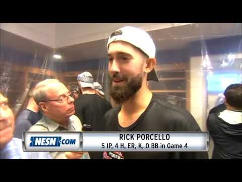 Video: Rick Porcello Game 4 ALDS Postgame Interview
