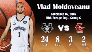 2016.11.16 Vlad Moldoveanu vs. Gaziantep