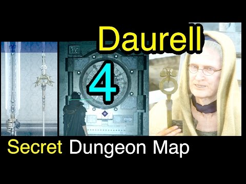 Final Fantasy XV: Daurell Sealed Dungeon Map - All Treasures Complete Walkthrough