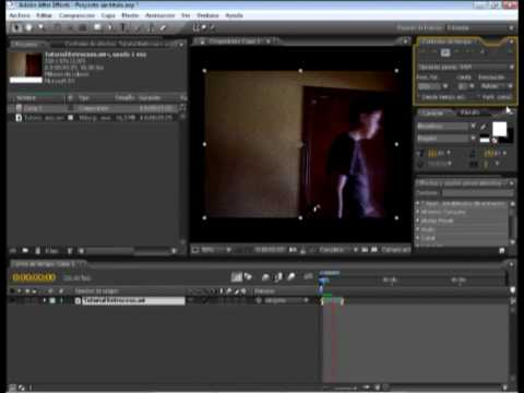 Video 2 de After Effects: Hacer retroceder el tiempo con After Effects