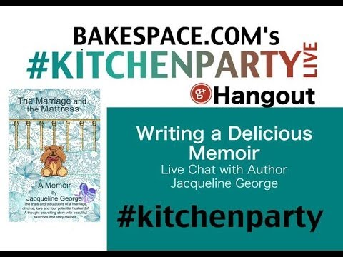 When Food Heals: Dinner & Divorce - Chat with Food Memoir Author Jacqueline George #kitchenparty