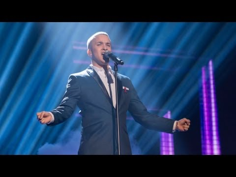 Jahmene Douglas Sings Whitney Houston's I Look To You - Live Week 9 - The X Factor UK 2012