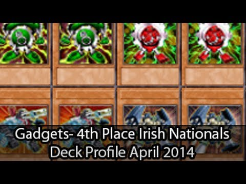Chain Gadgets – 4th Place Irish Nationals Cormac Haydon – Yugioh Deck Profile April 2014
