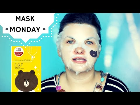 MASK MONDAY: Anti-Aging and Firming MediHeal Ampoule Sheet Mask