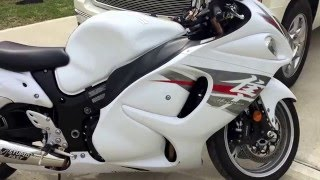 9. 2012 Suzuki Hayabusa (K&N Filter, Brocks Full Exhaust