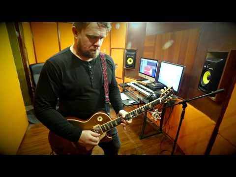 Записываем электрогитару на студии с Денисом Эповым ч.1