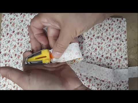 Fazer Viés de tricoline